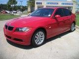 2007 Crimson Red BMW 3 Series 328i Sedan #35054970