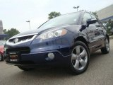 2007 Royal Blue Pearl Acura RDX Technology #35054442