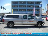 2000 Light Pewter Metallic Chevrolet Silverado 1500 LS Extended Cab 4x4 #35054696