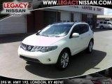 2010 Glacier White Pearl Nissan Murano LE AWD #35054474