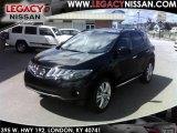 2010 Super Black Nissan Murano LE AWD #35054475