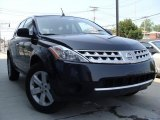 2007 Super Black Nissan Murano S AWD #35055370