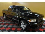 2004 Black Dodge Ram 1500 SLT Sport Quad Cab #35055062