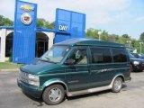 2000 Dark Forest Green Metallic Chevrolet Astro LS AWD Passenger Van #35054549