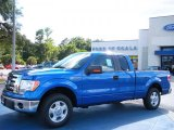 2010 Blue Flame Metallic Ford F150 XLT SuperCab #35054566