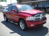 2009 Inferno Red Crystal Pearl Dodge Ram 1500 Sport Crew Cab 4x4 #35054785