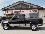1999 Black Dodge Ram 1500 SLT Extended Cab 4x4 #35054817