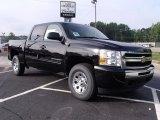 2010 Black Chevrolet Silverado 1500 LS Crew Cab 4x4 #35054829