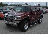 2003 Red Metallic Hummer H2 SUV #35126699
