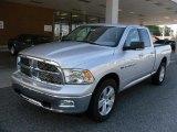 2011 Bright Silver Metallic Dodge Ram 1500 Big Horn Quad Cab 4x4 #35126708