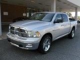 2011 Bright Silver Metallic Dodge Ram 1500 Big Horn Crew Cab 4x4 #35126709