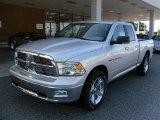 2011 Bright Silver Metallic Dodge Ram 1500 Big Horn Quad Cab #35126711