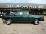 2003 Dark Green Metallic Chevrolet Silverado 1500 LS Extended Cab 4x4 #35126485