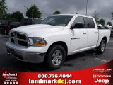 2011 Bright White Dodge Ram 1500 SLT Crew Cab #35126358