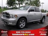 2011 Bright Silver Metallic Dodge Ram 1500 Big Horn Crew Cab #35126360