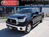 2008 Black Toyota Tundra Texas Edition Double Cab #35126263