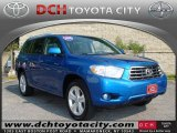 2008 Blue Streak Metallic Toyota Highlander Limited 4WD #35126830