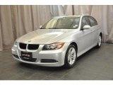 2008 Titanium Silver Metallic BMW 3 Series 328xi Sedan #35163531