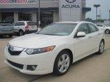 2010 Premium White Pearl Acura TSX Sedan #35163704