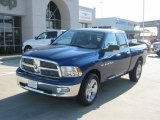 2011 Deep Water Blue Pearl Dodge Ram 1500 Lone Star Quad Cab #35177739