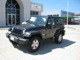 2010 Dark Charcoal Pearl Jeep Wrangler Sport 4x4 #35177744
