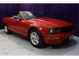 2007 Torch Red Ford Mustang V6 Premium Convertible #35177572