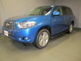 2008 Blue Streak Metallic Toyota Highlander Sport 4WD #35177639