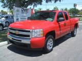 2011 Victory Red Chevrolet Silverado 1500 LS Extended Cab #35177467