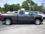 2011 Taupe Gray Metallic Chevrolet Silverado 1500 LS Extended Cab #35177709