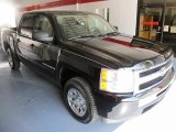 2009 Black Chevrolet Silverado 1500 LT Crew Cab #35221649