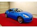 2009 Monterey Blue Nissan 370Z Coupe #35221875