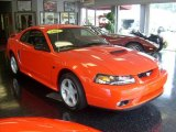 2001 Performance Red Ford Mustang GT Coupe #35222114