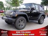 2010 Black Jeep Wrangler Sport Mountain Edition 4x4 #35221895
