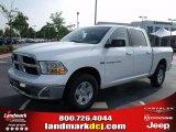 2011 Bright White Dodge Ram 1500 SLT Crew Cab 4x4 #35221904