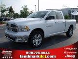 2011 Bright White Dodge Ram 1500 Big Horn Quad Cab #35221905