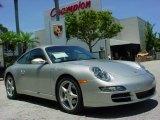 2007 Arctic Silver Metallic Porsche 911 Carrera Coupe #351948