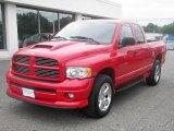 2004 Flame Red Dodge Ram 1500 SLT Quad Cab 4x4 #35221972