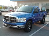 2008 Electric Blue Pearl Dodge Ram 1500 SLT Regular Cab #35222518