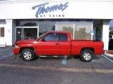 2001 Flame Red Dodge Ram 1500 SLT Club Cab #35222239