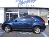 2010 Navy Blue Metallic Chevrolet Equinox LT #35222241