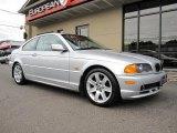 2001 Titanium Silver Metallic BMW 3 Series 325i Coupe #35221810