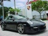 2007 Basalt Black Metallic Porsche 911 Turbo Coupe #351968