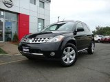 2007 Super Black Nissan Murano SL AWD #35222089