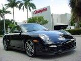 2007 Black Porsche 911 Turbo Coupe #351969