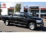 2007 Black Dodge Ram 1500 SLT Quad Cab 4x4 #35282883