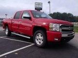 2011 Victory Red Chevrolet Silverado 1500 LT Crew Cab #35283370