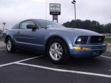 2007 Windveil Blue Metallic Ford Mustang V6 Premium Coupe #35283372