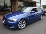 2007 Montego Blue Metallic BMW 3 Series 328xi Coupe #35283157