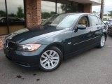2007 Deep Green Metallic BMW 3 Series 328xi Sedan #35283160
