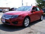 2010 Sangria Red Metallic Ford Fusion SE V6 #35282924
